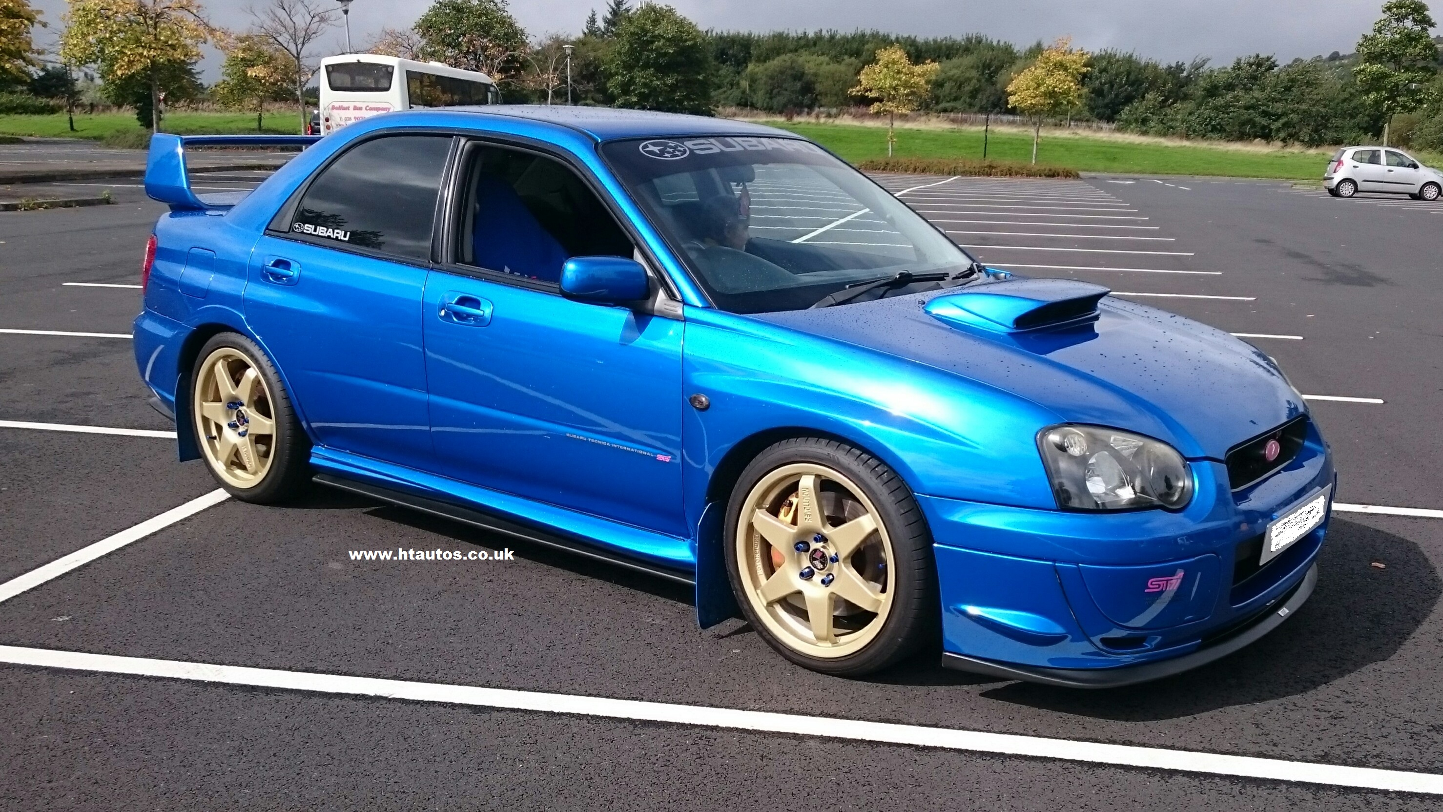 Subaru Impreza 03 05 Bolbeye Sti Full Lip Kit