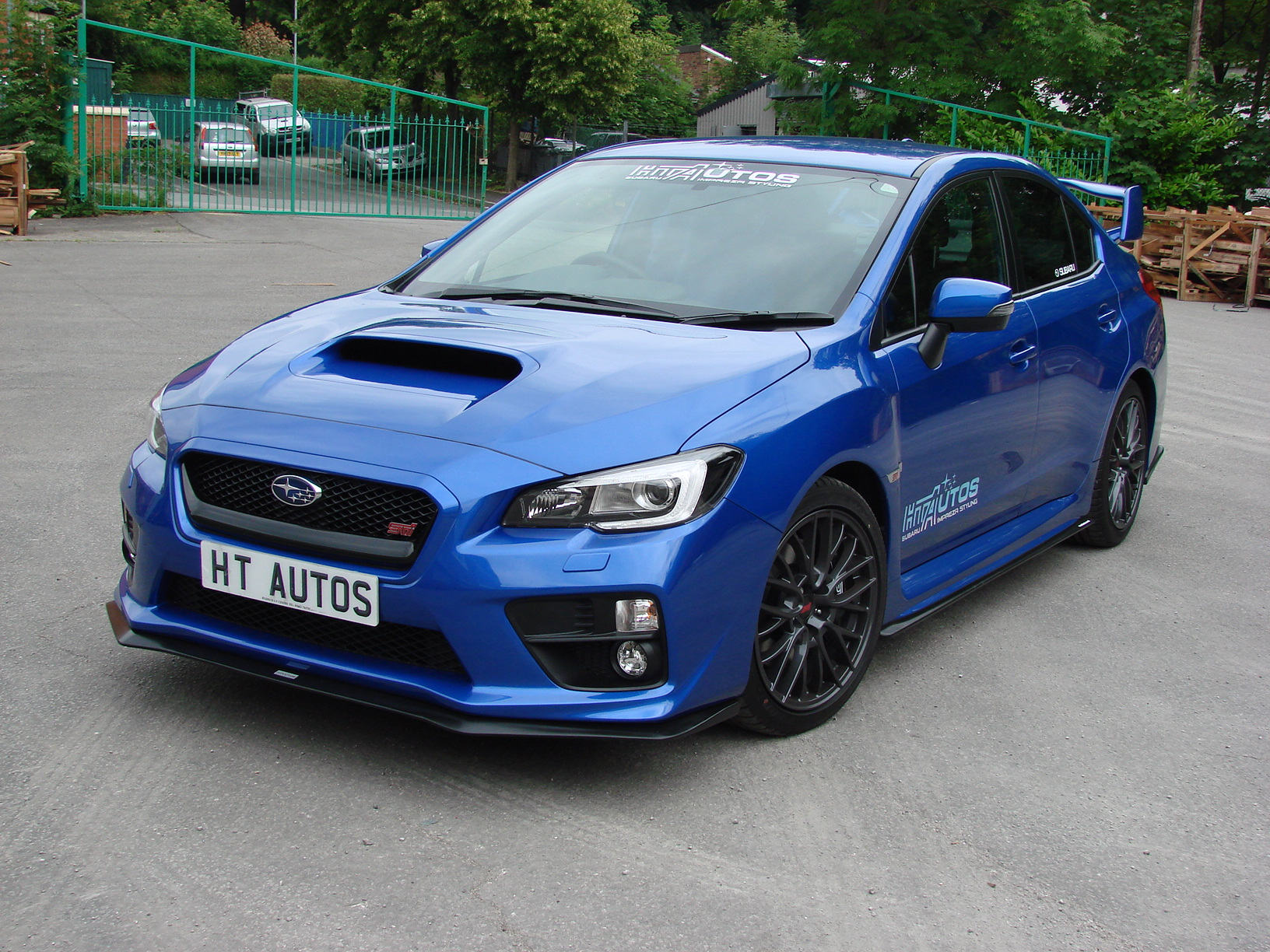 Subaru 2015 WRX STi Bottomline body kit / Lip kit.